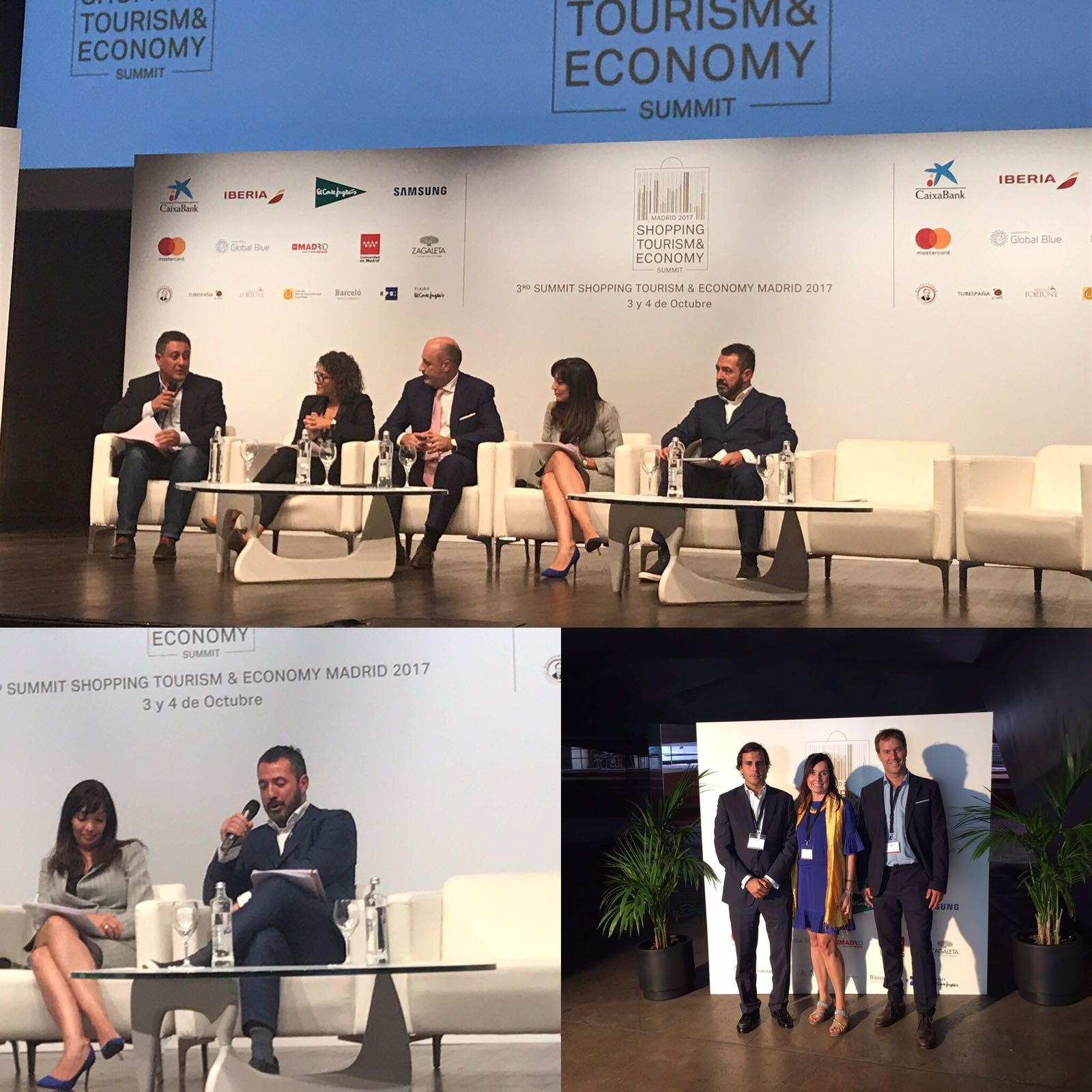 3rd Summit Shopping Tourism & Economy Madrid 2017