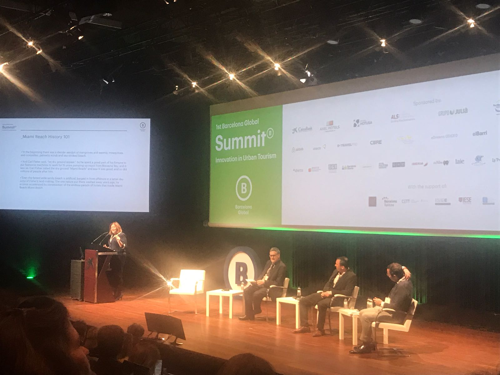 1st Barcelona Global Summit Innovation in Urban Tourism